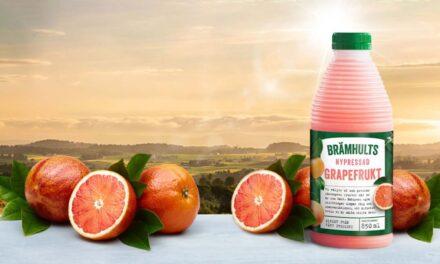Brämhults lanserar den efterlängtade smaken – nypressad grapefrukt