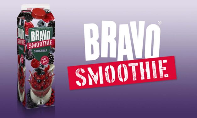 Marknadsledande Bravo släpper smoothie med ny smak av skogsbär